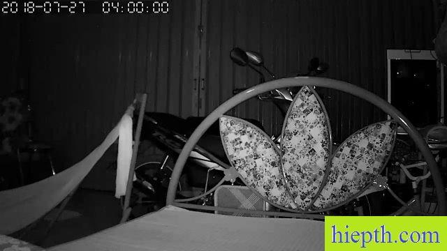 camera hồng ngoại ban đêm rỏ, thấy vật thể rỏ nét
