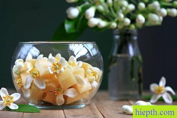 Cách làm tinh dầu từ hoa bưởi