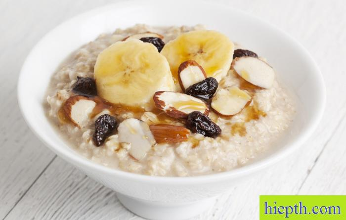 Ăn yến mạch với sữa tươi giảm cân 1